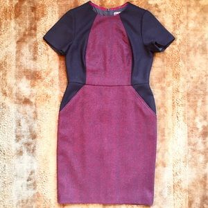 Women's Boden Tweed Dress Sz 10